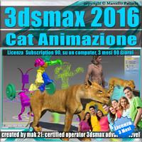 3ds max 2016 Cat Animazione 3 Mesi Subscription
