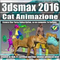3ds max 2016 Cat Animazione Subscription