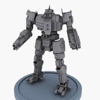 robot concept 3d max