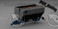 3d liquid manure spreader