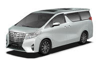 toyota alphard 3d model