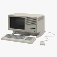 3d apple lisa model