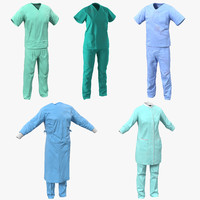 doctor clothing 2 3d max