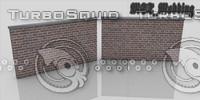 stone wall base 3d model