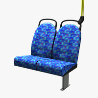 london bus seat obj