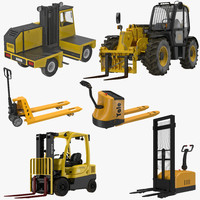 3d model forklifts 2