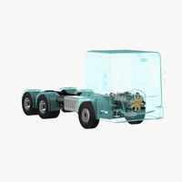 max truck chassis x-ray