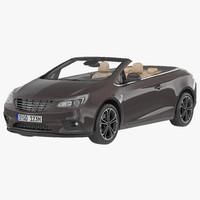 3d model generic cabriolet