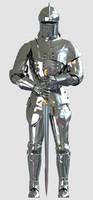 medieval knight 3d max