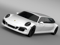 3d model porsche 911 carrera 4