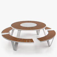 pantagruel outdoor table 3d max