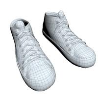 3d sneaker shoe