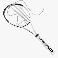 3d model racket cord