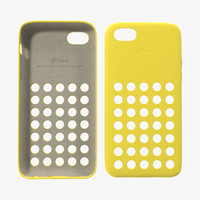 3ds max iphone 5c case yellow