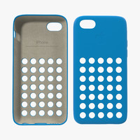 3d iphone 5c case model