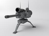 3d sentry gun