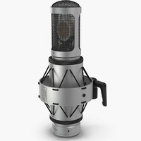 3d model microphone brauner