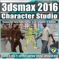 3ds max 2016 Character Studio Subscription