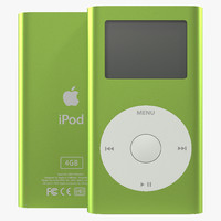 maya ipod mini green