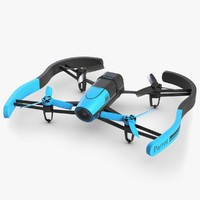 Parrot Bebop Drone Blue With Bumper