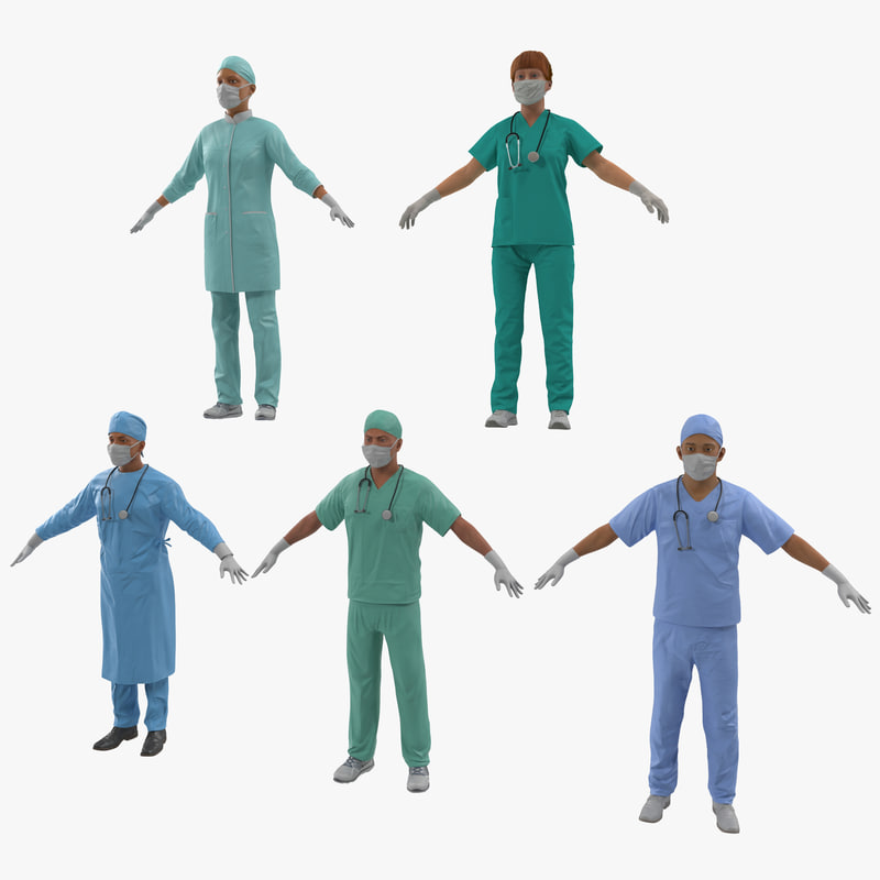 Doctors Collection 3d models 000.jpg