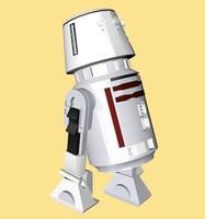 3d r5-d4 star wars model