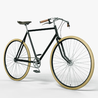 3d model bicycle photoreal