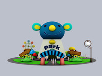 Cartoon park