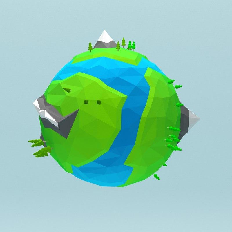 Cartoon low poly planet 1.jpg