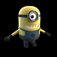 minion despicable 3d max