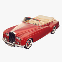 3d model rolls-royce coupe rolls