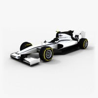 generic formula gp2 2015 3d model