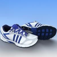 sport shoes 3d fbx
