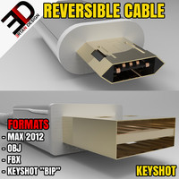 reversible micro - usb cable max