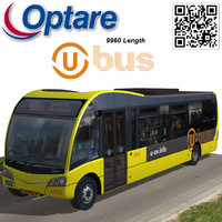 optare solo bus u-ov 3d max