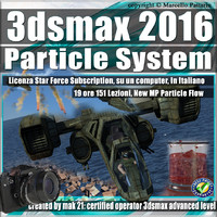 3ds max 2016 Particle System e Particle Flow_Subscription