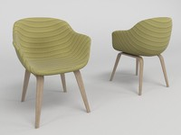 modern chair - cadeira 3d model