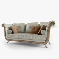 3dsmax leather sofa klimt