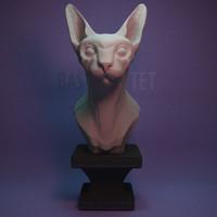 sculpture bastet max