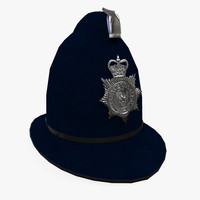 police helmet 3d ma