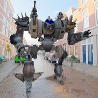 machs juggar mech robot 3d obj