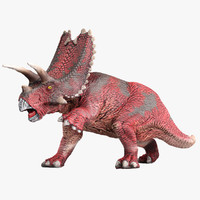 3d pentaceratops animation