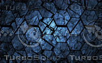 Blue grunge geometrical abstract background