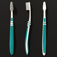 toothbrush blender 3d model
