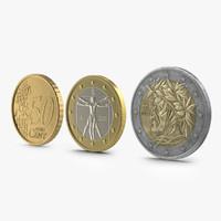 maya italian euro coins