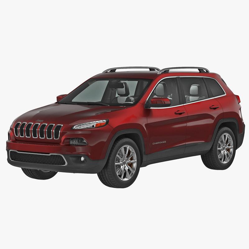Jeep Cherokee 2015 3d model 00.jpg
