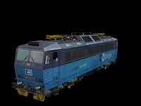 363 electric 3d model