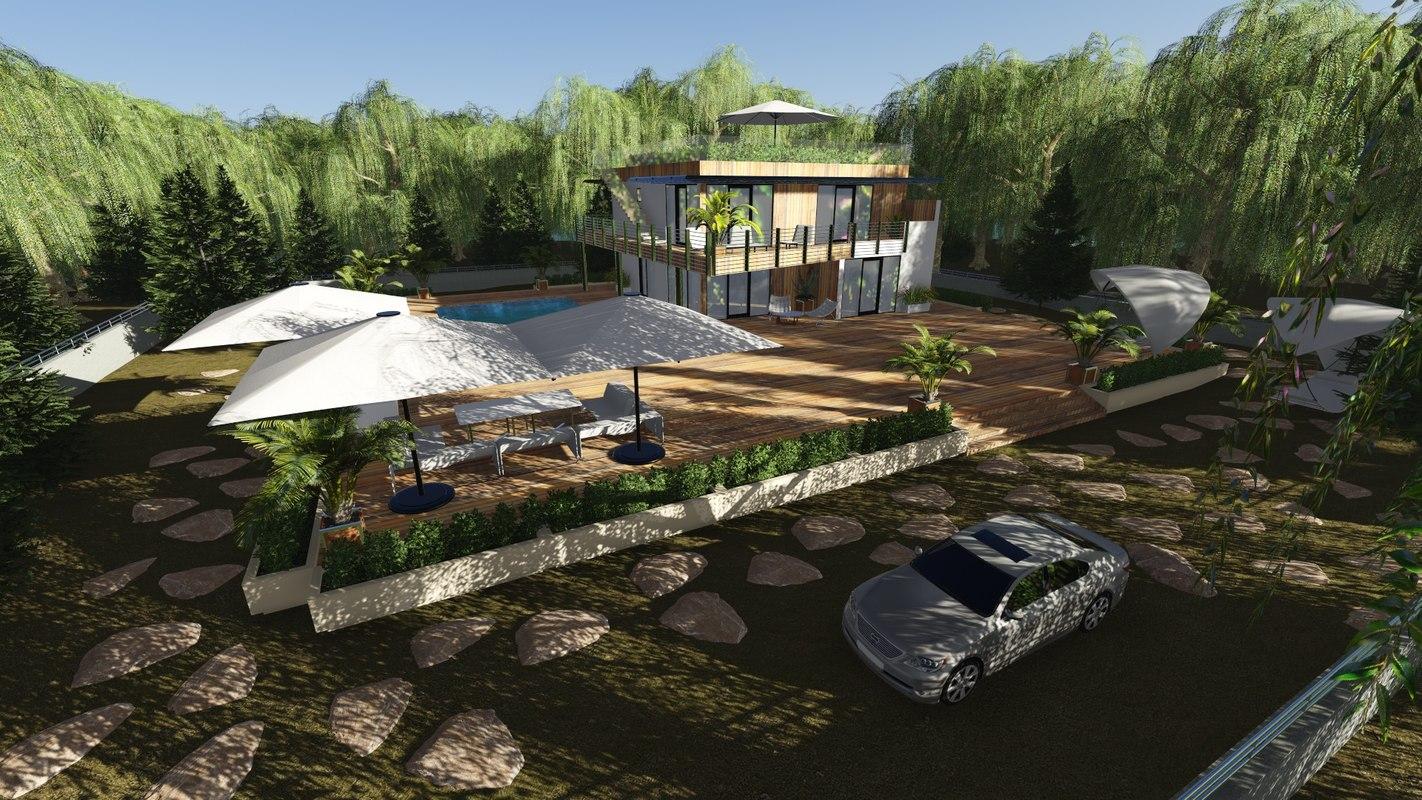 Dream house oasis 3d model for Dream house 3d