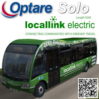 optare solo bus locallink 3d model