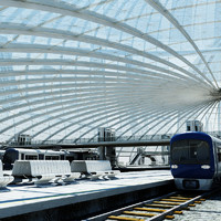 train station 2 3d max